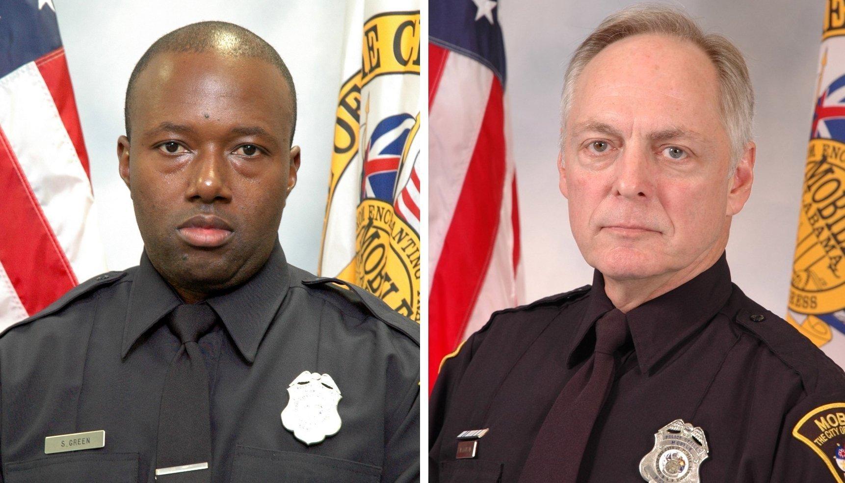 Police Officer Steven Caserlos Dion Green, Sr.   Mobile Police Department, Alabama