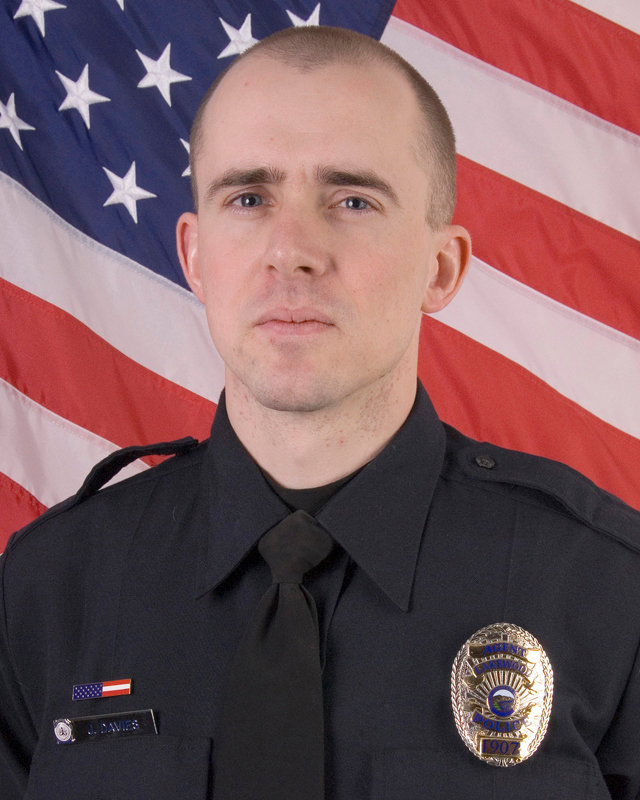 Police Agent James Jeffery Davies | Lakewood Police Department, Colorado
