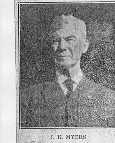 Night Marshal John Kerr Myers | Stuart Police Department, Iowa