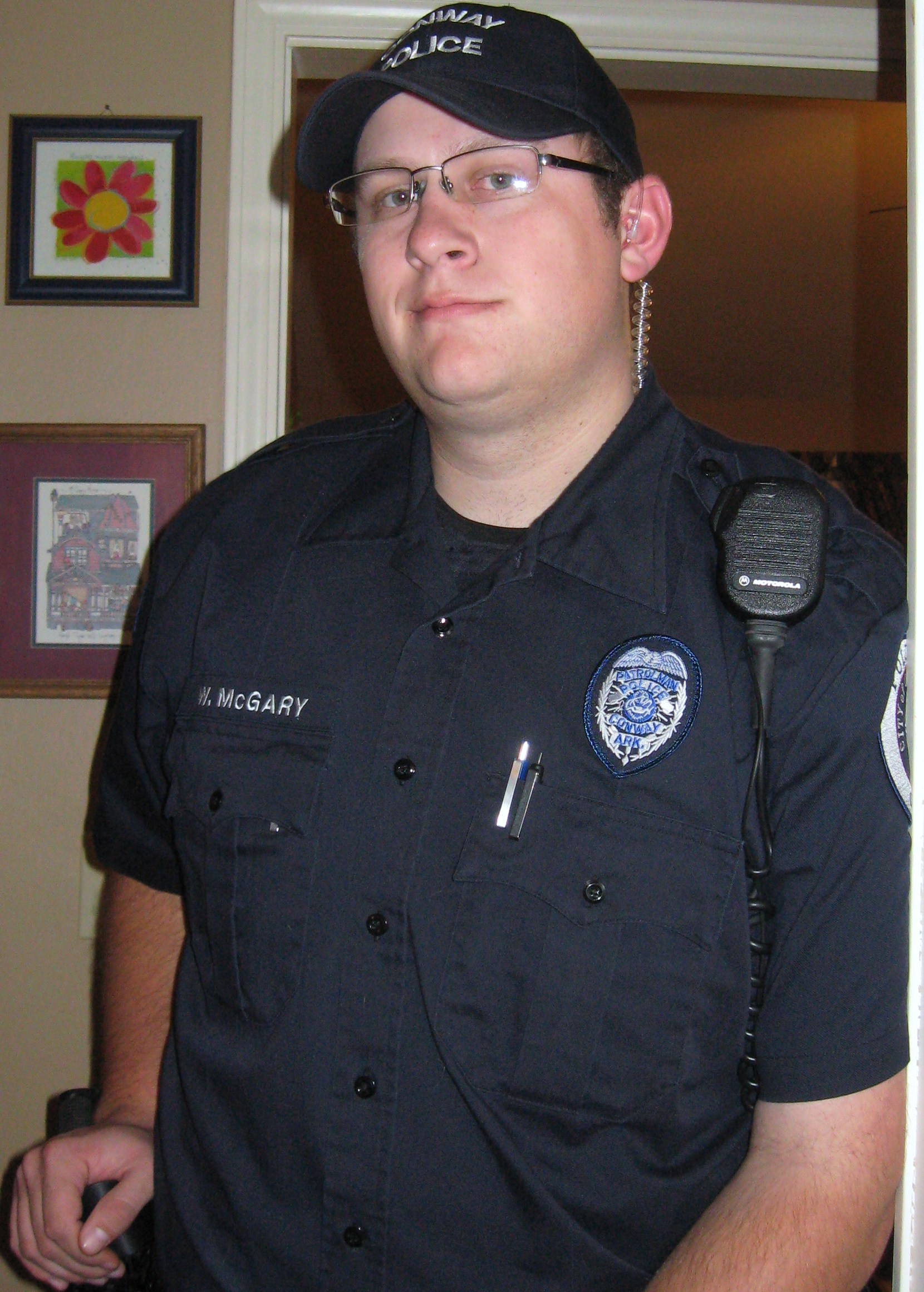 Police Officer William Michael McGary | Conway Police Department, Arkansas