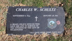 Police Officer Charles W. Schultz | Wilmington Police Department, Delaware