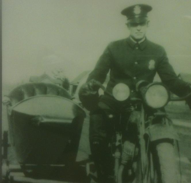 Patrolman Otto Brown   Bellingham Police Department, Washington