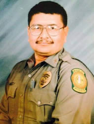 Senior Police Officer Ernest Jesus Montoya, Sr | Navajo Division of Public Safety, Tribal Police
