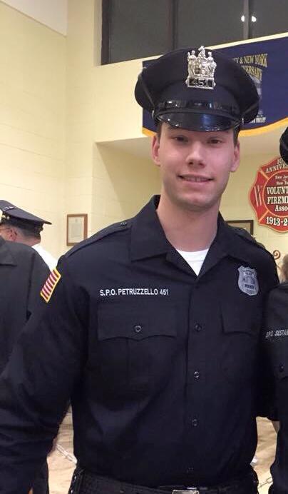Police Officer Stephen John Petruzzello   Cliffside Park Police Department, New Jersey