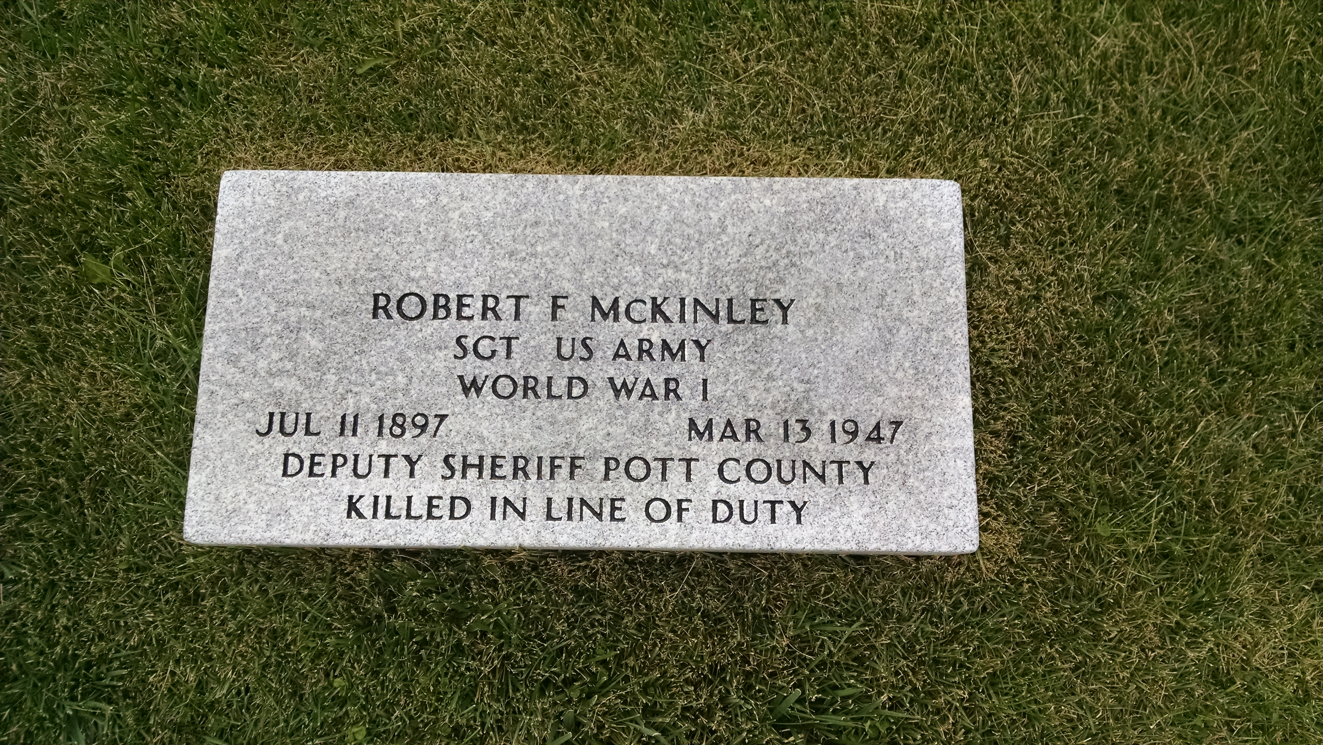 Deputy Sheriff Robert Fern McKinley | Pottawattamie County Sheriff's Office, Iowa