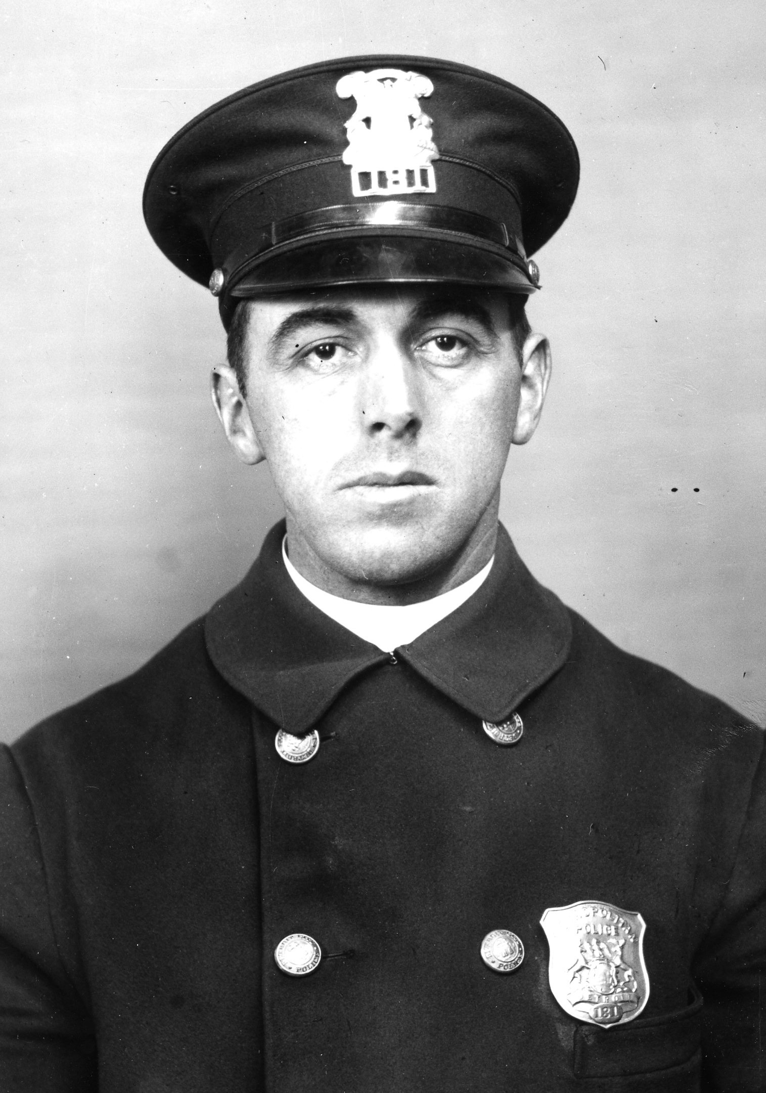 Police Officer Fred V. Breslin | Detroit Police Department, Michigan