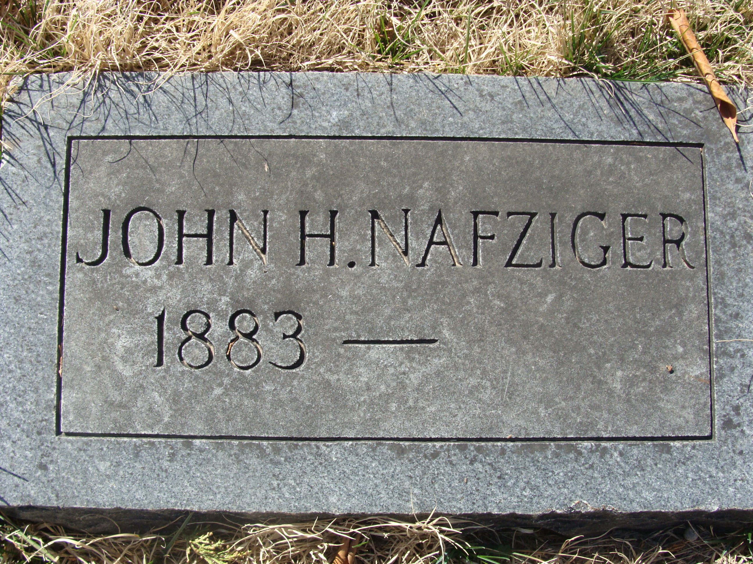 Special Agent John H. Nafziger | Atchison, Topeka and Santa Fe Railroad Police Department, Railroad Police