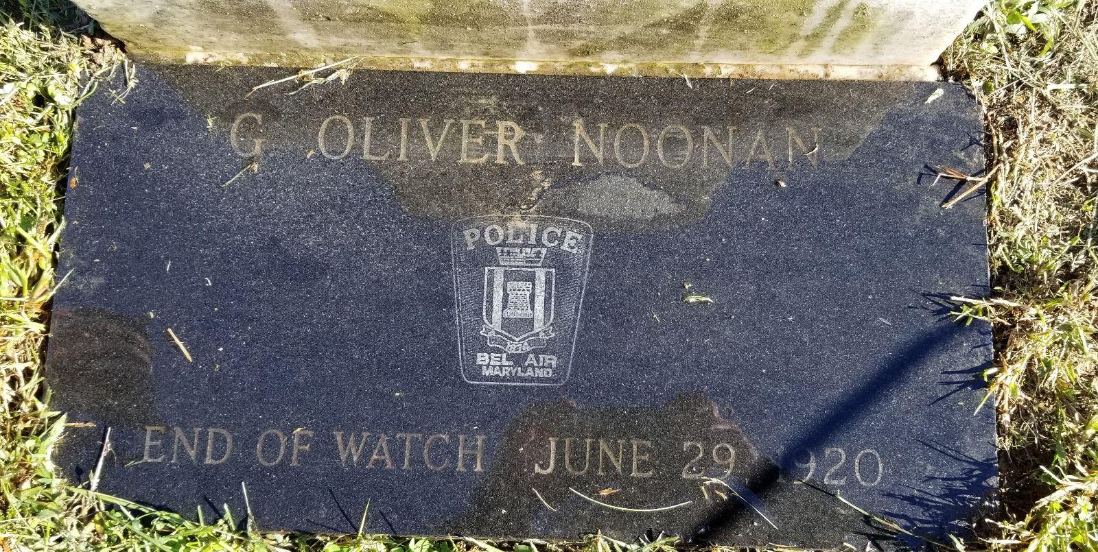 Officer George Oliver Noonan | Bel Air Police Department, Maryland