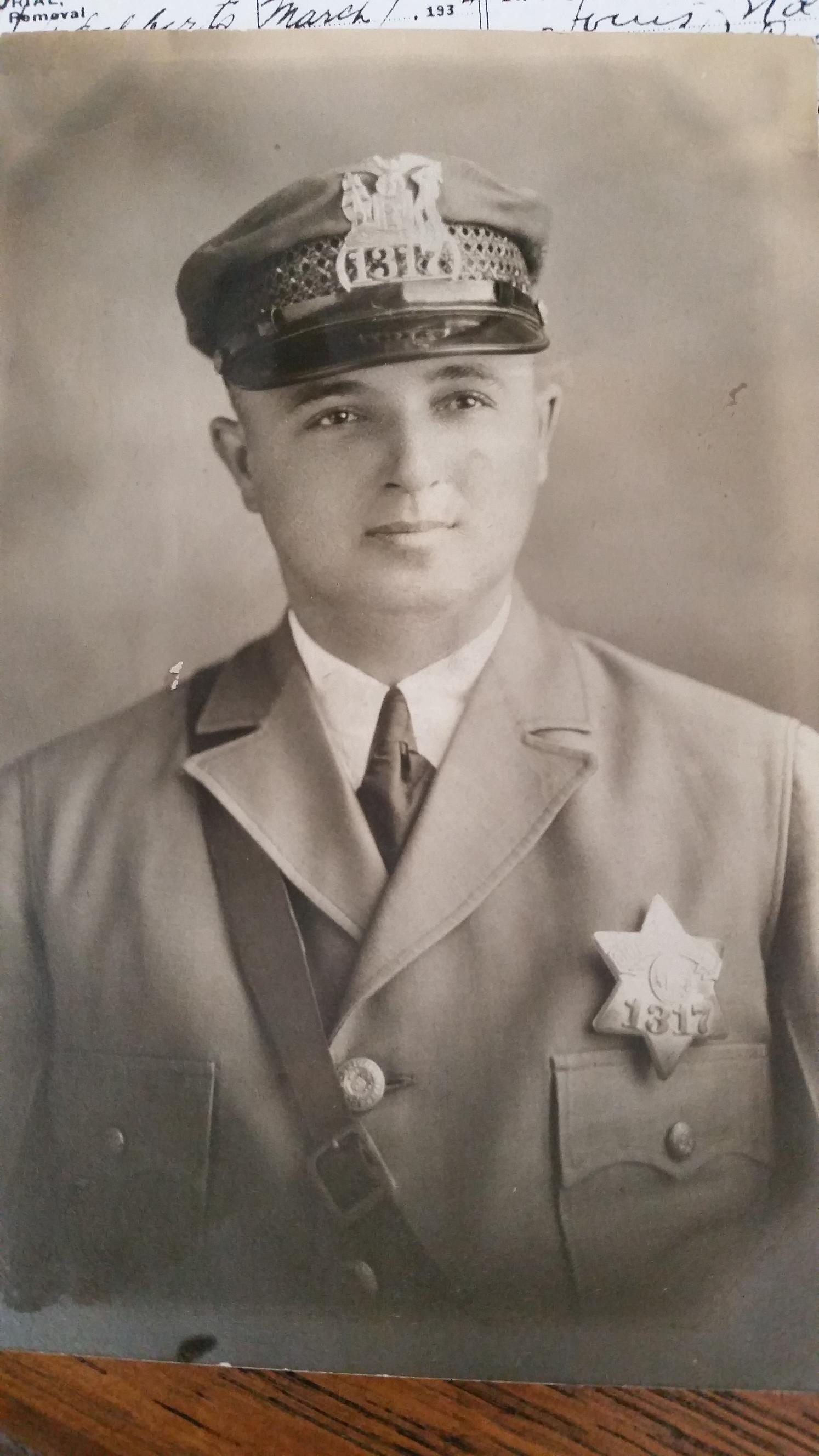 Patrolman Anthony J. Lalla   Chicago Police Department, Illinois