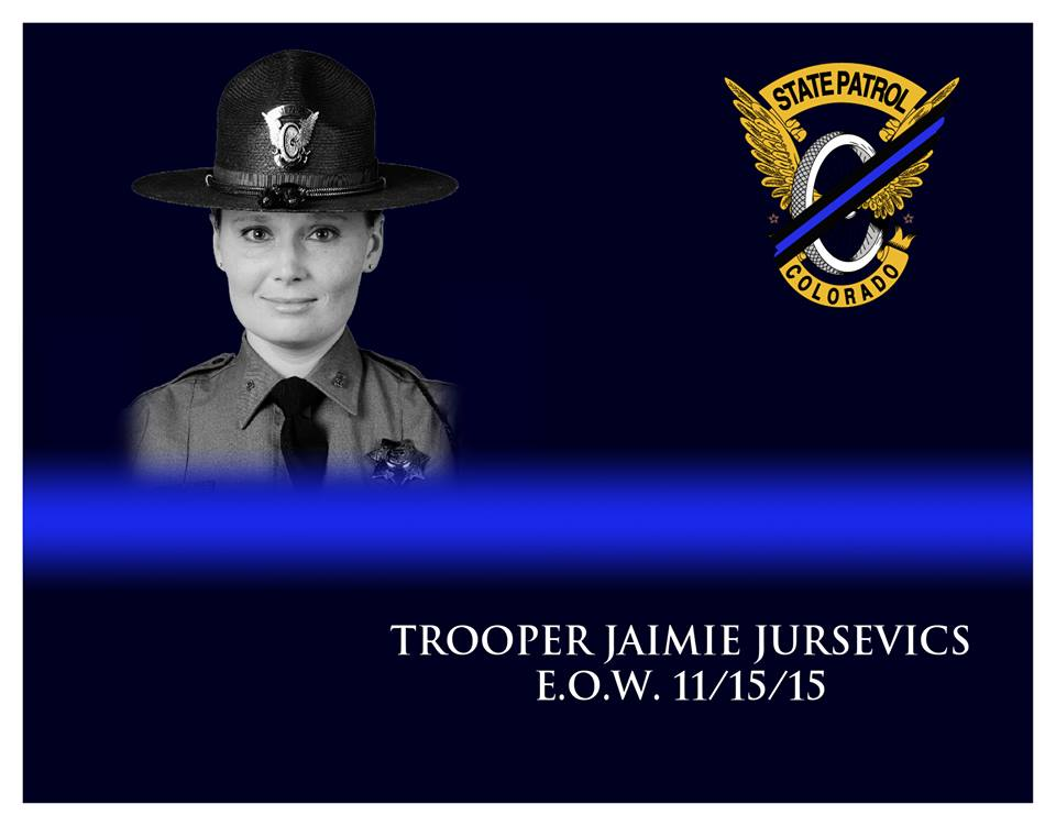 Trooper Jaimie Lynn Jursevics | Colorado State Patrol, Colorado