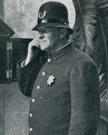 Police Officer Clarence E. Peck | Pasadena Police Department, California