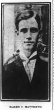 Special Agent Elmer Colby Matthews   Cincinnati, New Orleans and Texas Pacific Railway Police, Railroad Police