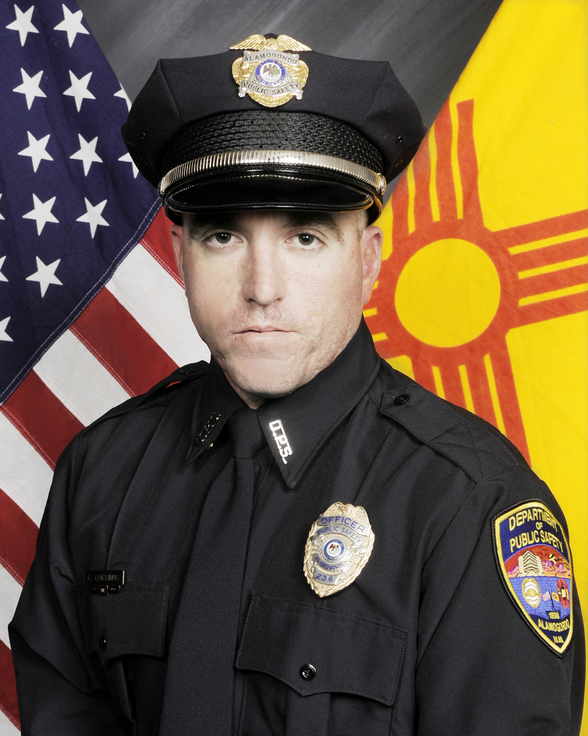 Police Officer Clint E. Corvinus | Alamogordo Police Department, New Mexico