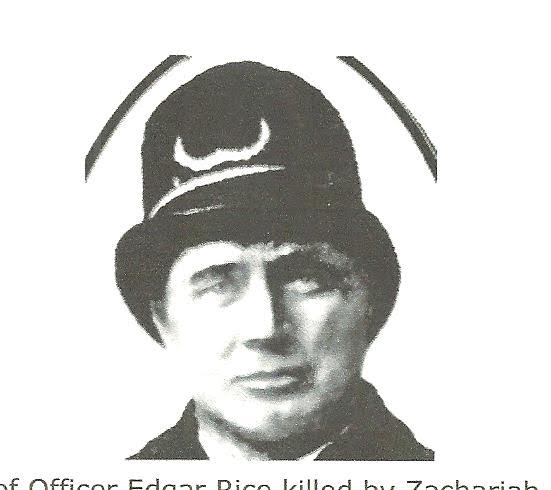 Special Policeman T. Edgar Rice | Pennsylvania Coal and Iron Police Department, Pennsylvania