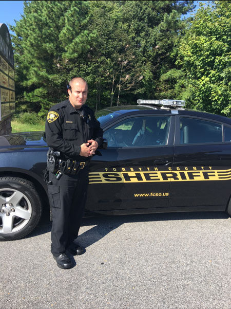 Deputy Sheriff John Thomas Isenhour | Forsyth County Sheriff's Office, North Carolina