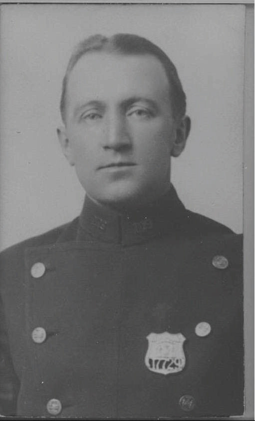 Patrolman William E. J. Brophy | New York City Police Department, New York