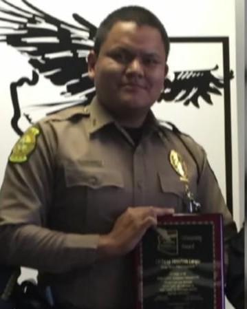 Police Officer Houston James Largo | Navajo Division of Public Safety, Tribal Police