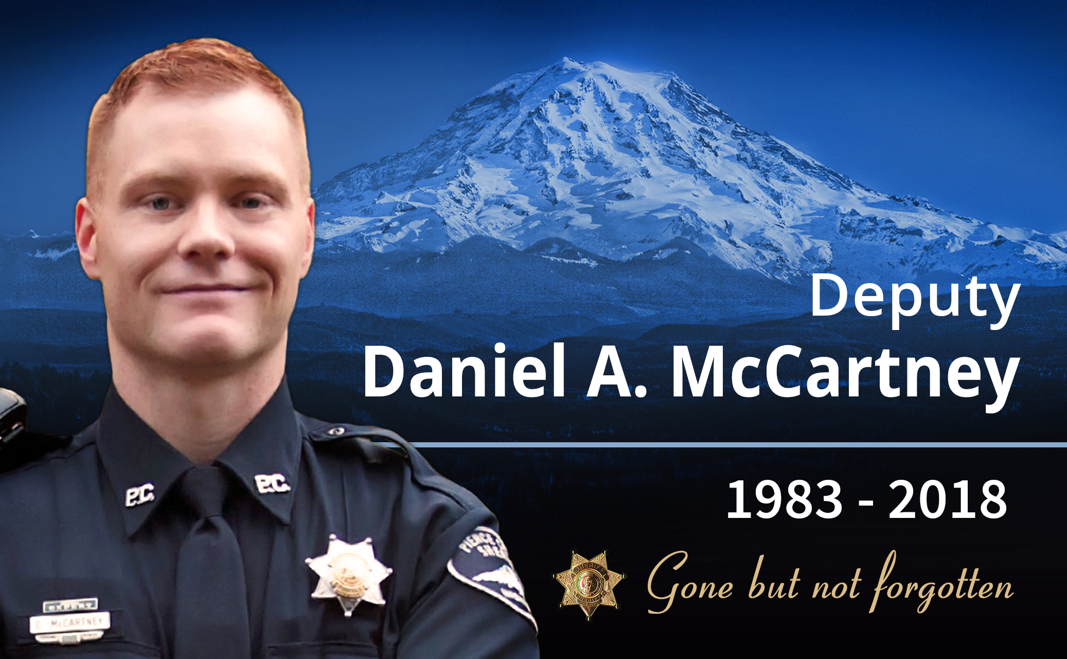 Deputy Sheriff Daniel Alexander McCartney | Pierce County Sheriff's Department, Washington
