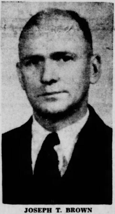 U.S. Customs Inspector Joseph Turner Brown | United States Department of the Treasury - United States Customs Service, U.S. Government