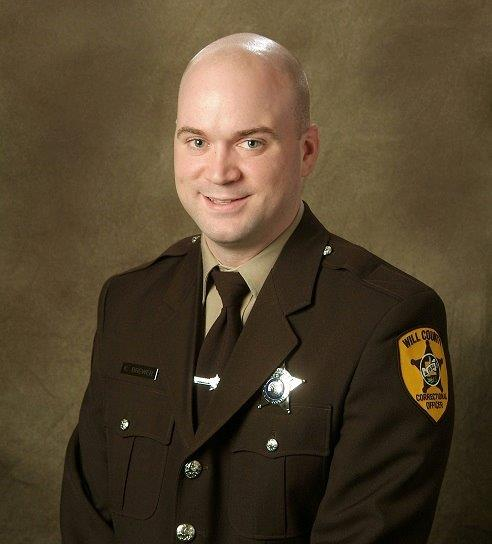 Correctional Officer Kevin J. Brewer | Will County Sheriff's Office, Illinois