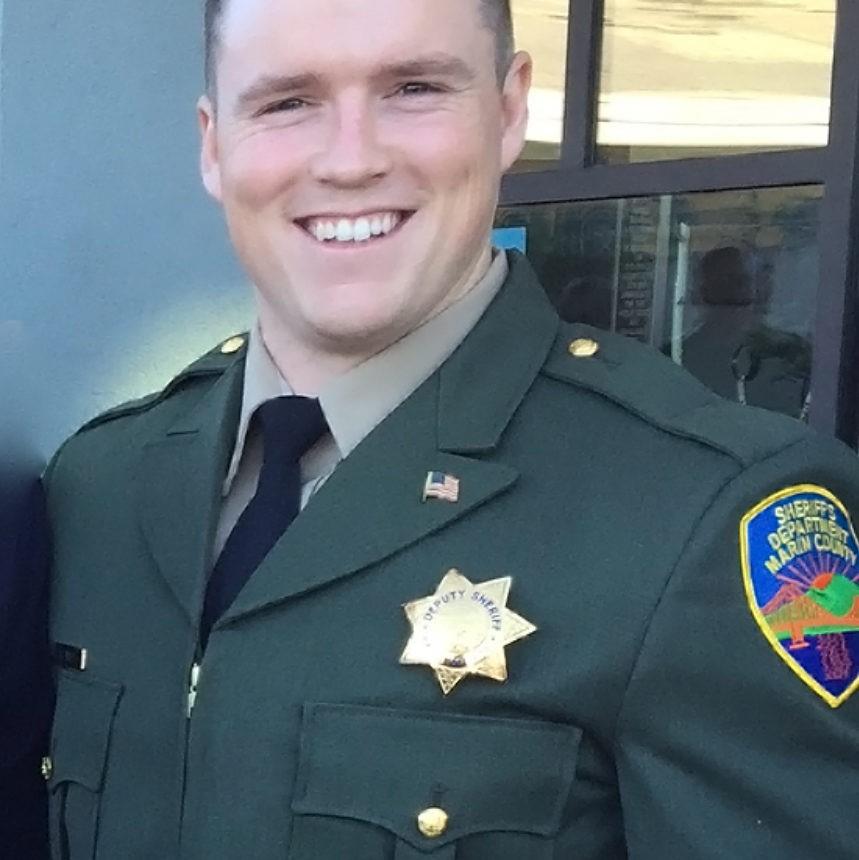 Deputy Sheriff Ryan Douglas Zirkle   Marin County Sheriff's Office, California