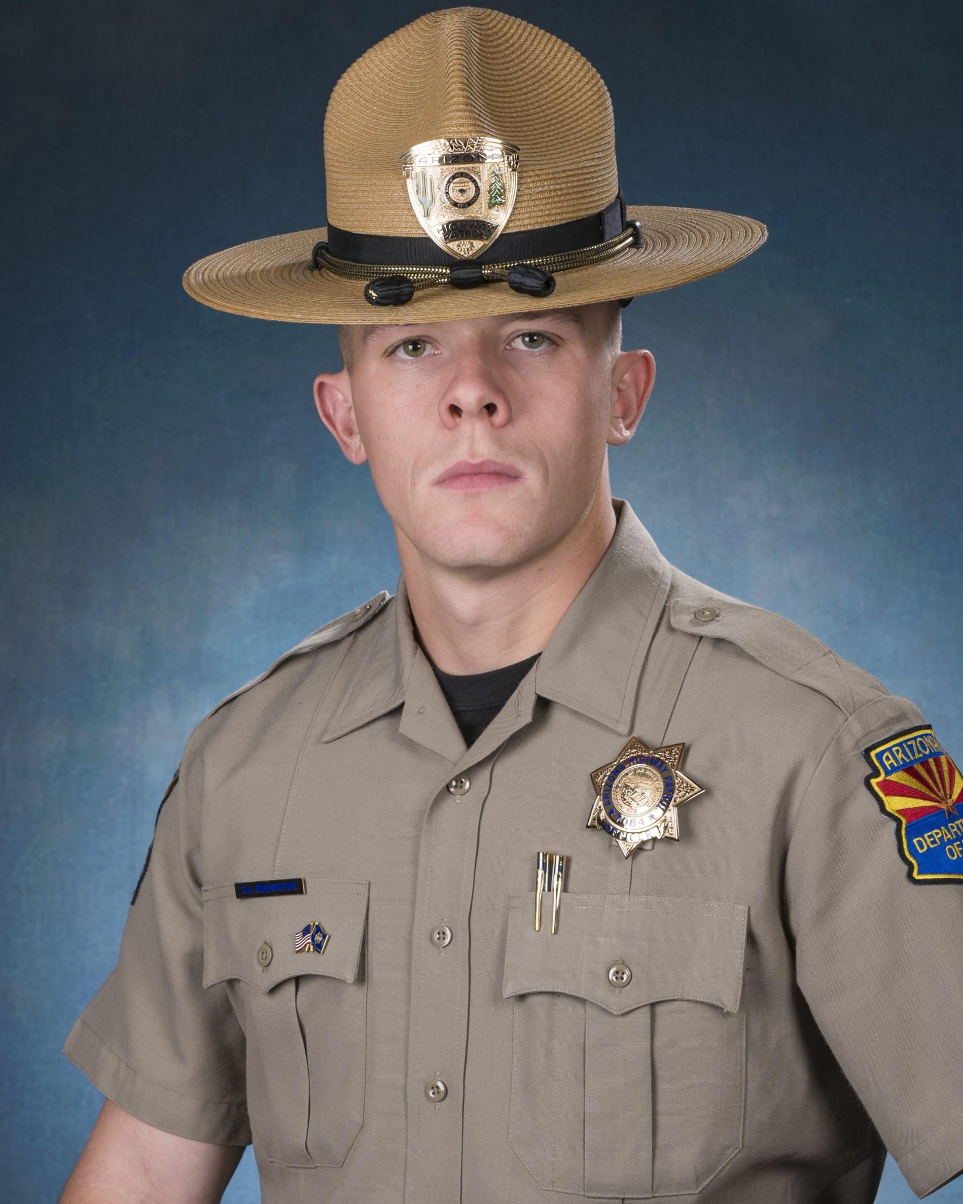 Trooper Tyler James Edenhofer   Arizona Department of Public Safety, Arizona