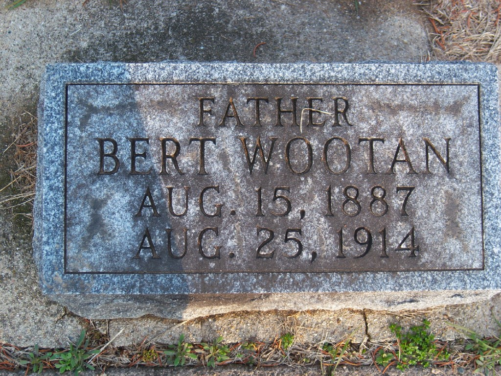 Special Agent Bert Wootan | Chicago, Burlington and Quincy Railroad Police Department, Railroad Police