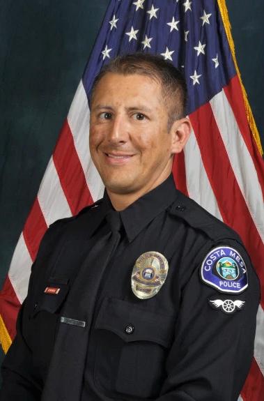 Police Officer Oscar Adrian Reyes   Costa Mesa Police Department, California