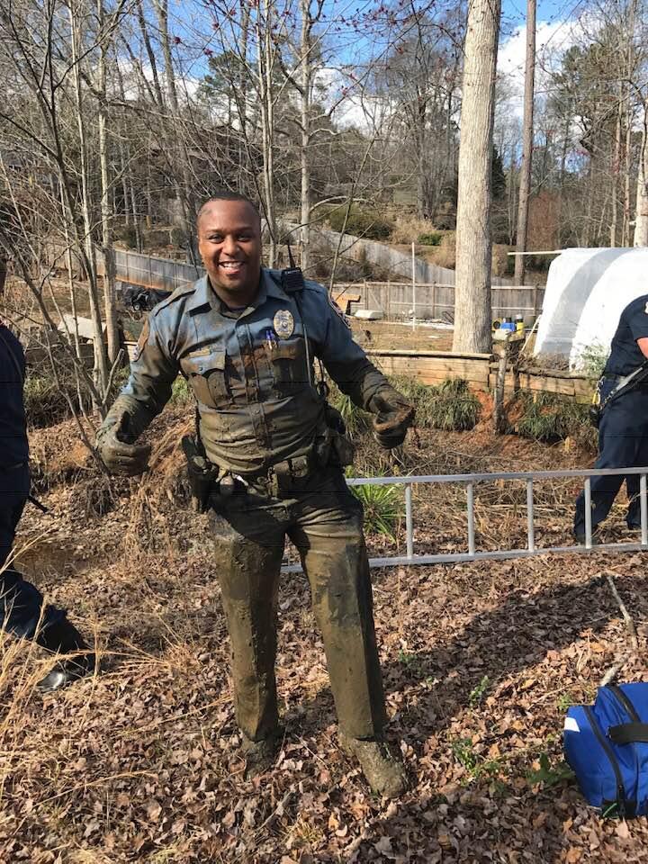 Police Officer Antwan DeArvis Toney, Gwinnett County Police