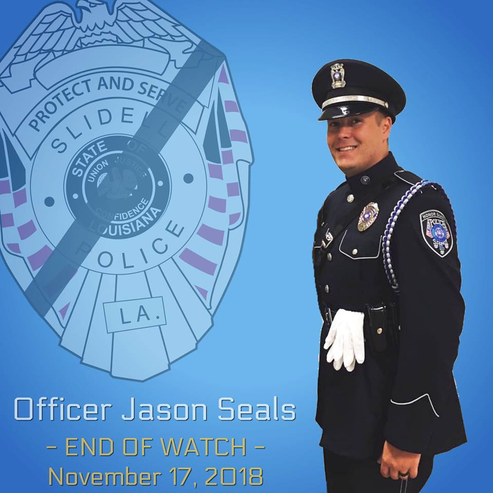 Police Officer Jason Michael Seals | Slidell Police Department, Louisiana