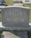 Town Marshal Freeman O. Epps | Arabi Police Department, Georgia