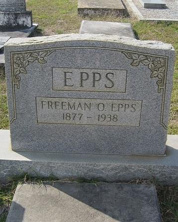 Town Marshal Freeman O. Epps | Arabi Police Department, Georgia