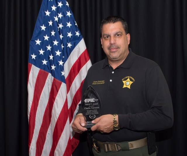 Captain Charles Frank Scavuzzo | St. Lucie County Sheriff's Office, Florida