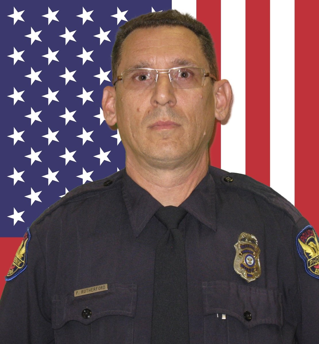 Police Officer Paul Thomas Rutherford | Phoenix Police Department, Arizona