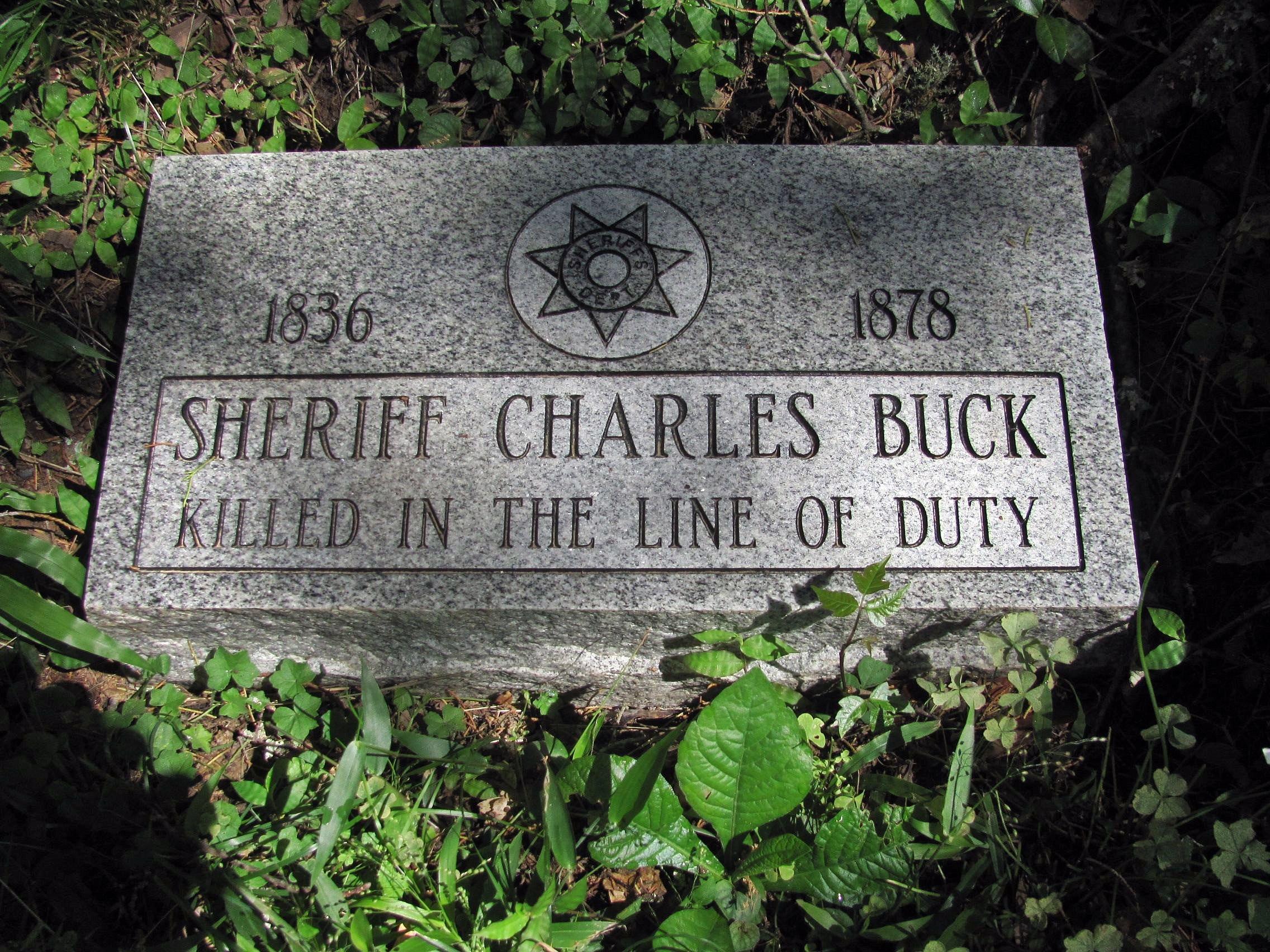 Sheriff Charles Edward Buck   Claiborne County Sheriff's Department, Mississippi