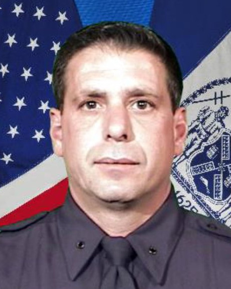 Police Officer Anthony D'Erasmo   New York City Police Department, New York