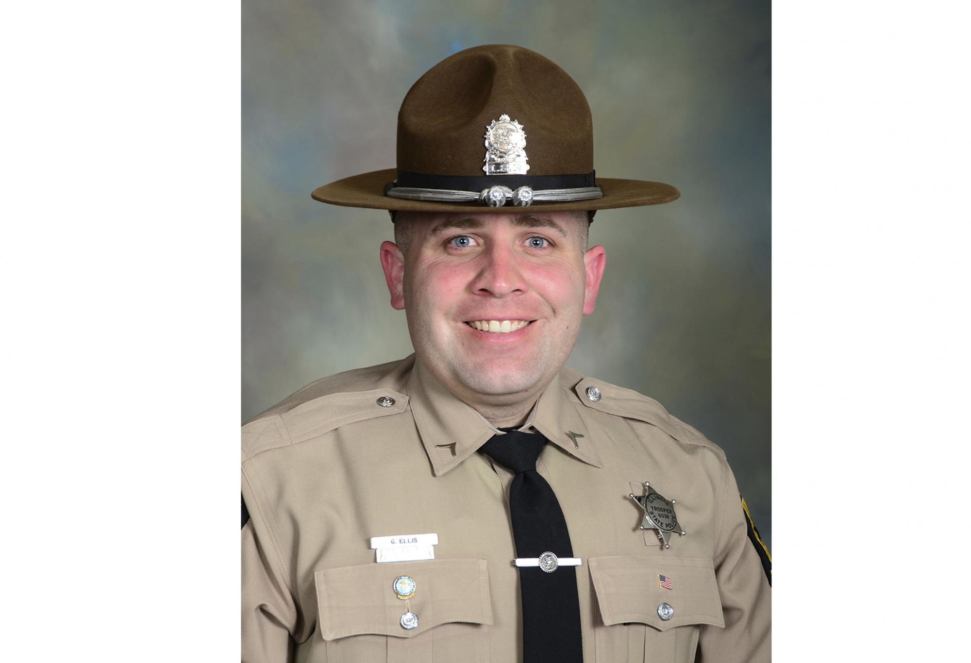 Trooper Gerald Wayne Ellis | Illinois State Police, Illinois