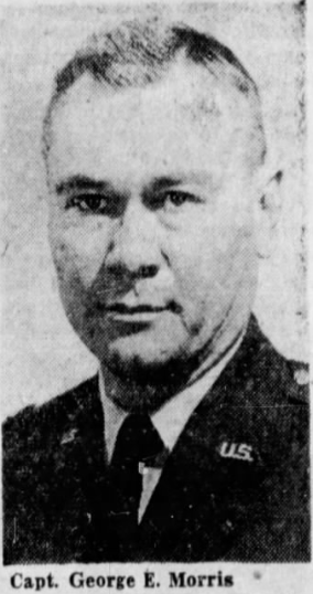 Captain George Edgar Morris | United States Air Force Security Forces, U.S. Government