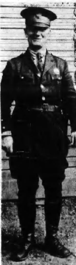 Patrolman William E. Deal | New York Central Railroad Police Department, Railroad Police
