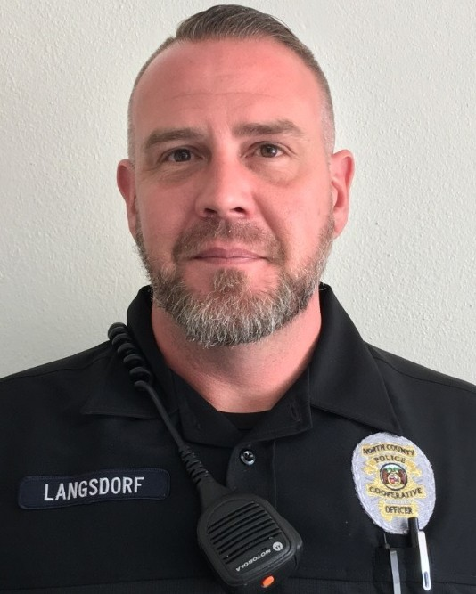 Police Officer Michael Vincent Langsdorf | North County Police Cooperative, Missouri