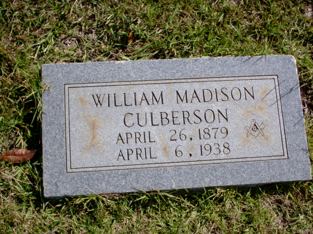 Constable William Madison Culberson | Bowie County Constable's Office - Precinct 1, Texas