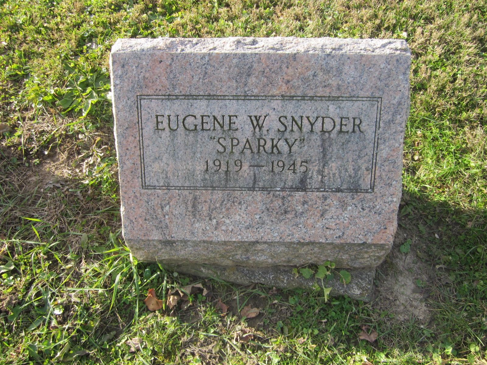 Deputy Sheriff Eugene W. Snyder | Wayne County Sheriff's Office, Indiana