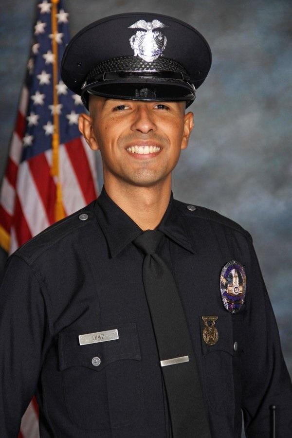 Police Officer Juan Jose Diaz   Los Angeles Police Department, California