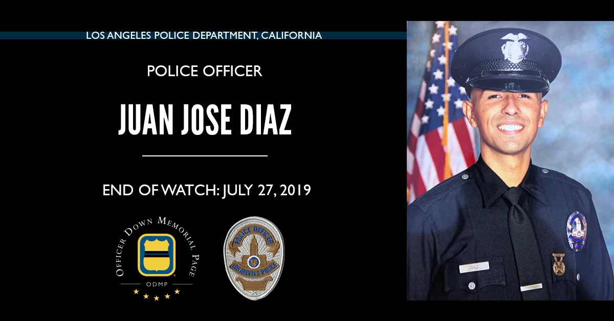Police Officer Juan Jose Diaz | Los Angeles Police Department, California