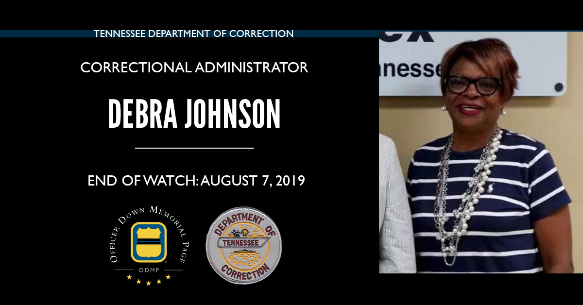 Correctional Administrator Debra Kay Porter-Johnson | Tennessee Department of Correction, Tennessee