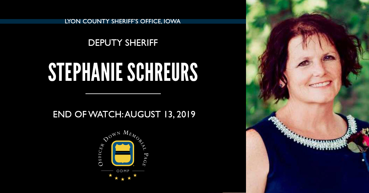 Deputy Sheriff Stephanie Schreurs | Lyon County Sheriff's Office, Iowa