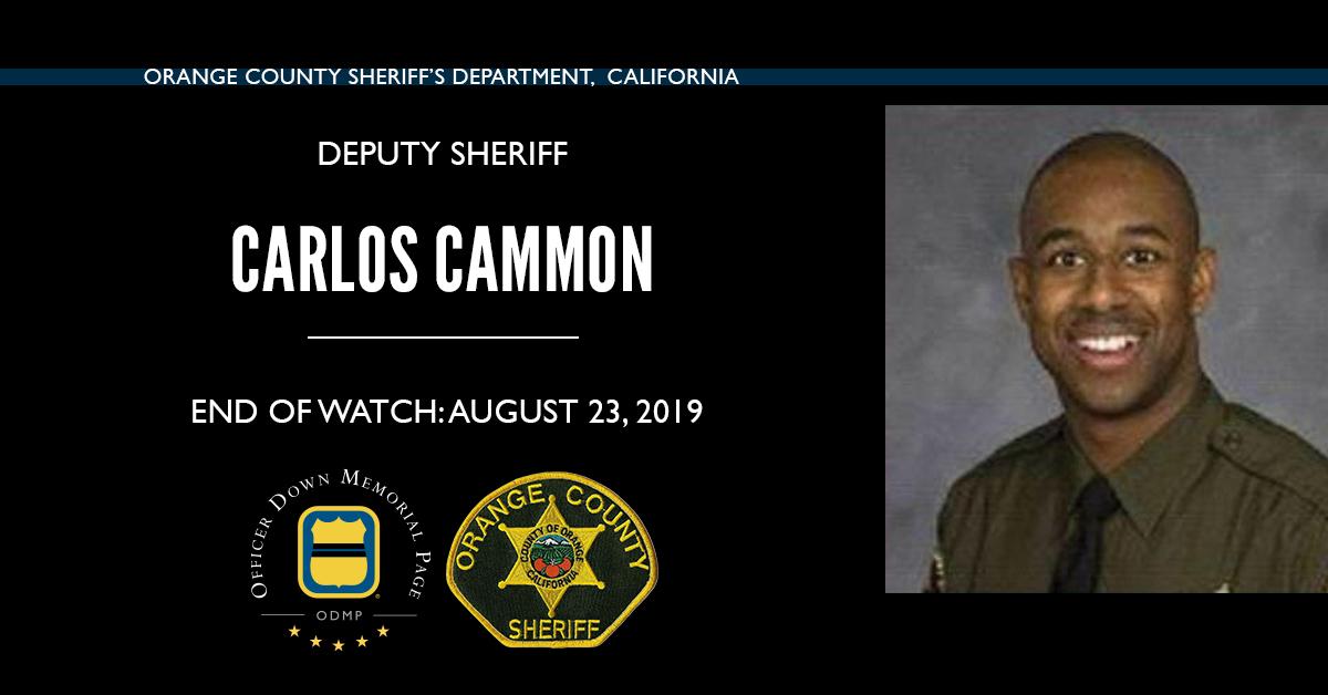 Deputy Sheriff Carlos J. Cammon | Orange County Sheriff's Department, California