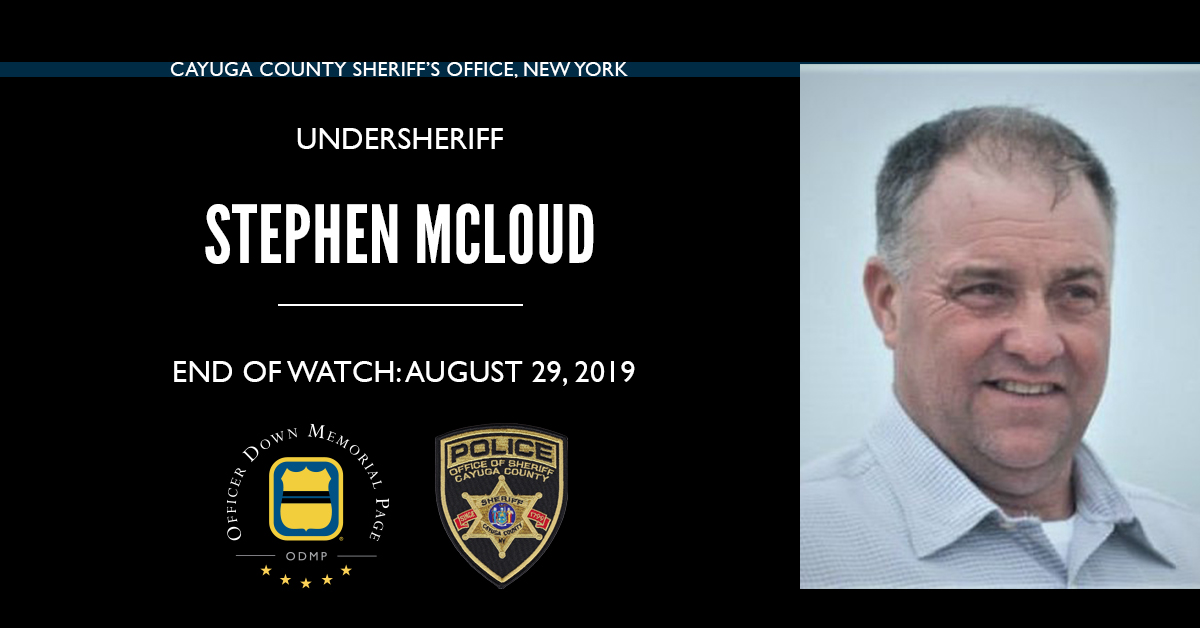 Undersheriff Stephen B. McLoud | Cayuga County Sheriff's Office, New York