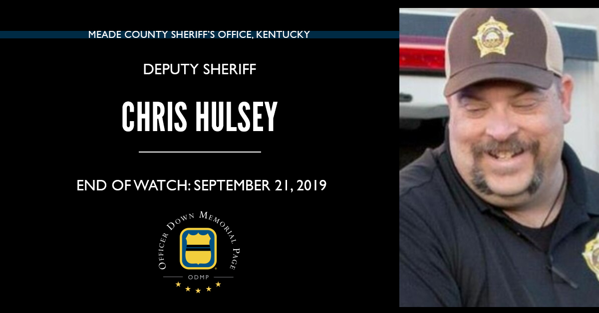 Deputy Sheriff Christopher Michael Hulsey, Meade County