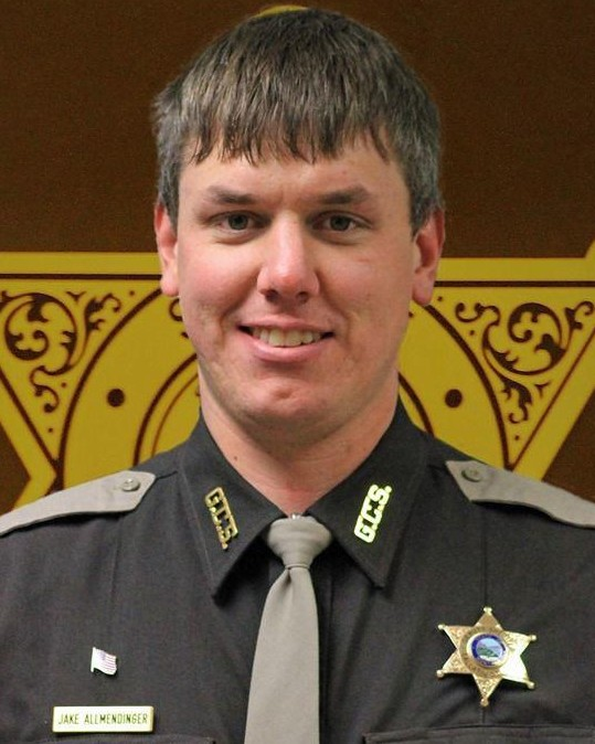 Deputy Sheriff Jacob Otto Allmendinger | Gallatin County Sheriff's Office, Montana